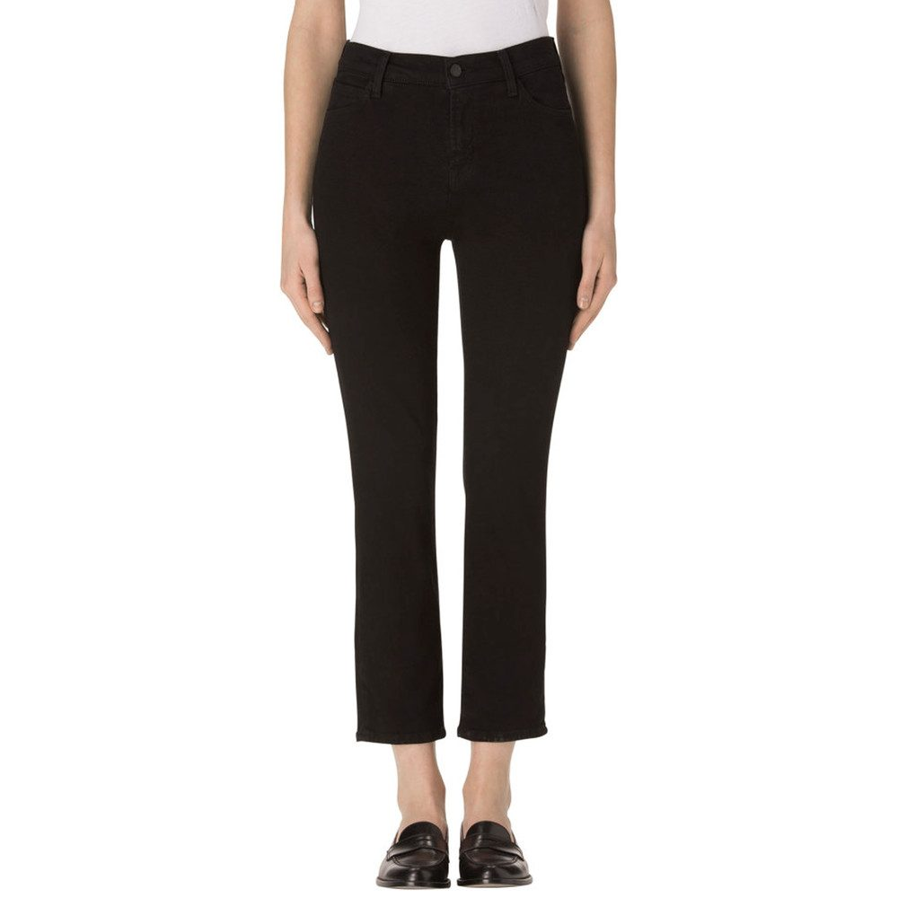 Ruby High Rise Crop Jeans - Shadow Black