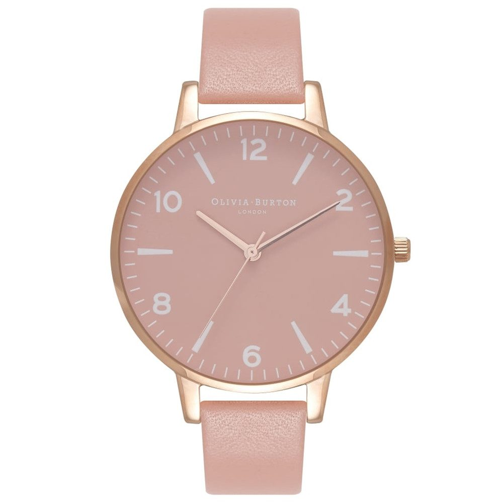 Modern Vintage Rose Petal Dial Watch - Dusty Pink & Rose Gold