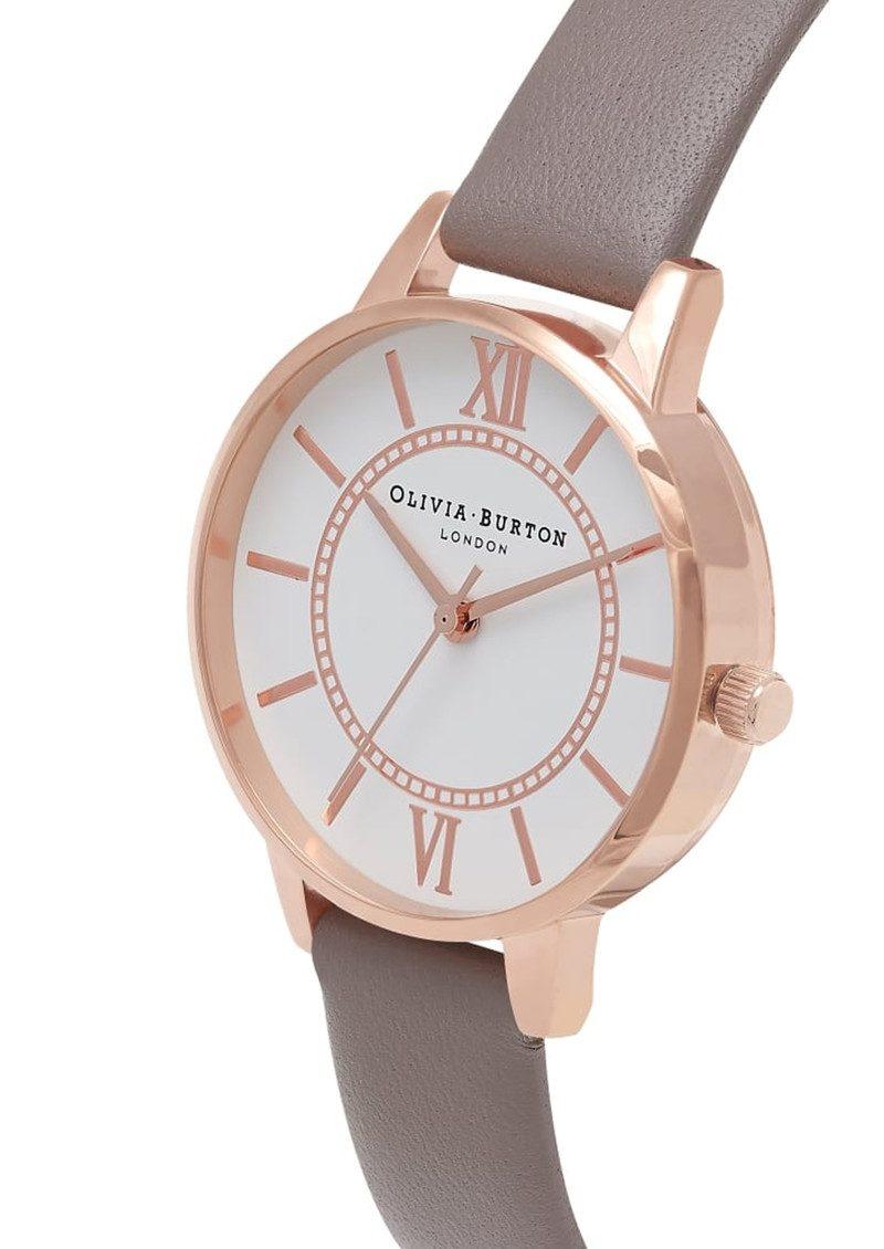 Olivia Burton Wonderland Watch - London Grey & Rose Gold main image