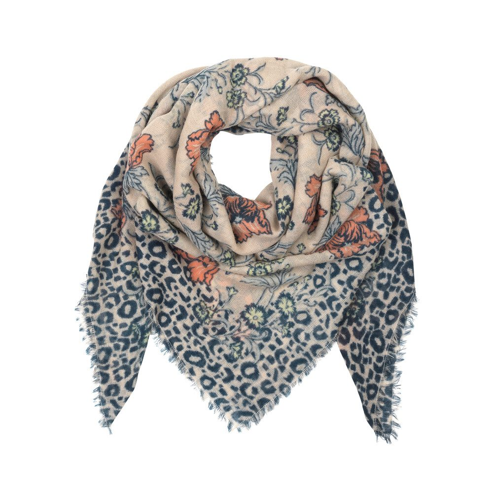 Edith Wool Scarf - Candlelight Peach