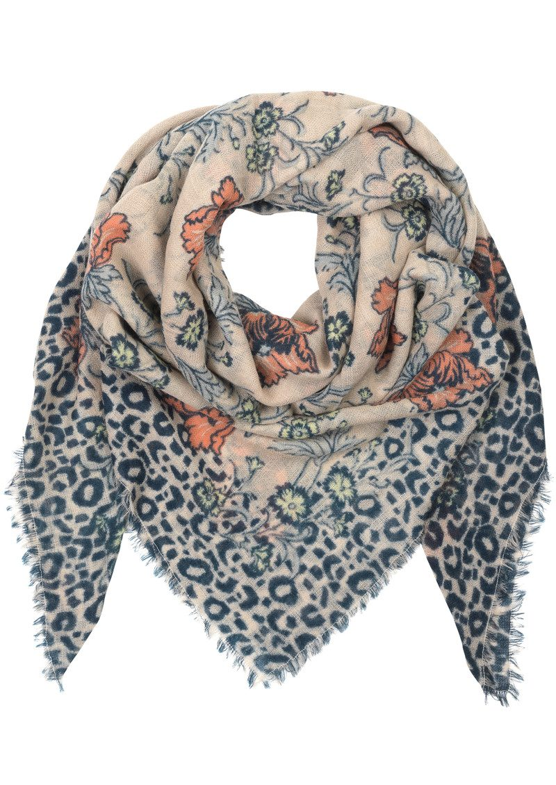 Becksondergaard Edith Wool Scarf - Candlelight Peach main image