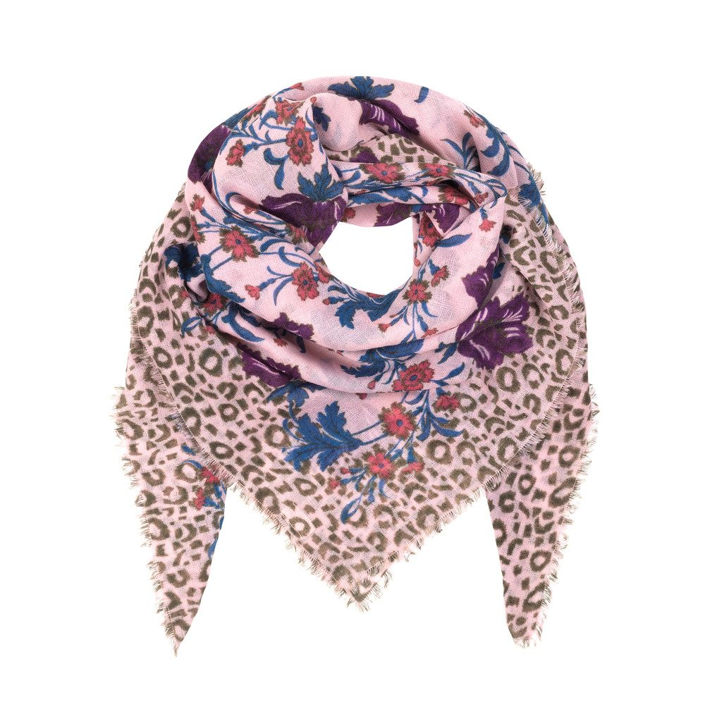Edith Wool Scarf - Beech