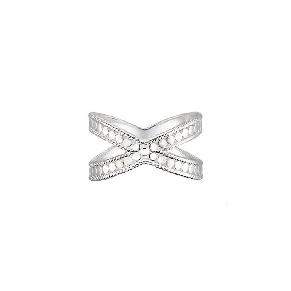 Cross Ring - Silver