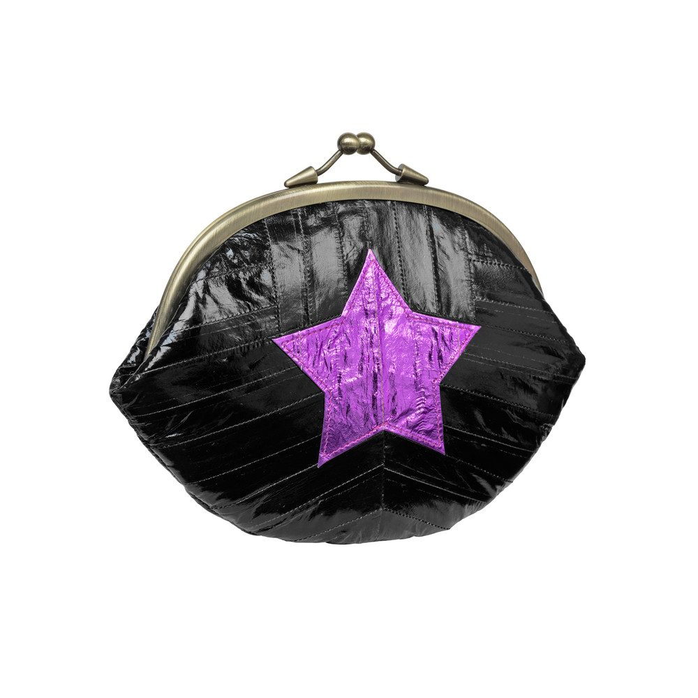 Granny Star Purse - Black
