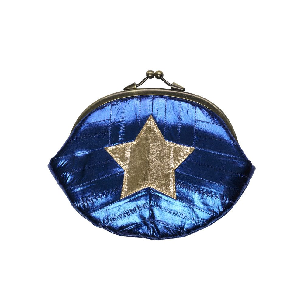 Granny Star Purse - Medieval Blue
