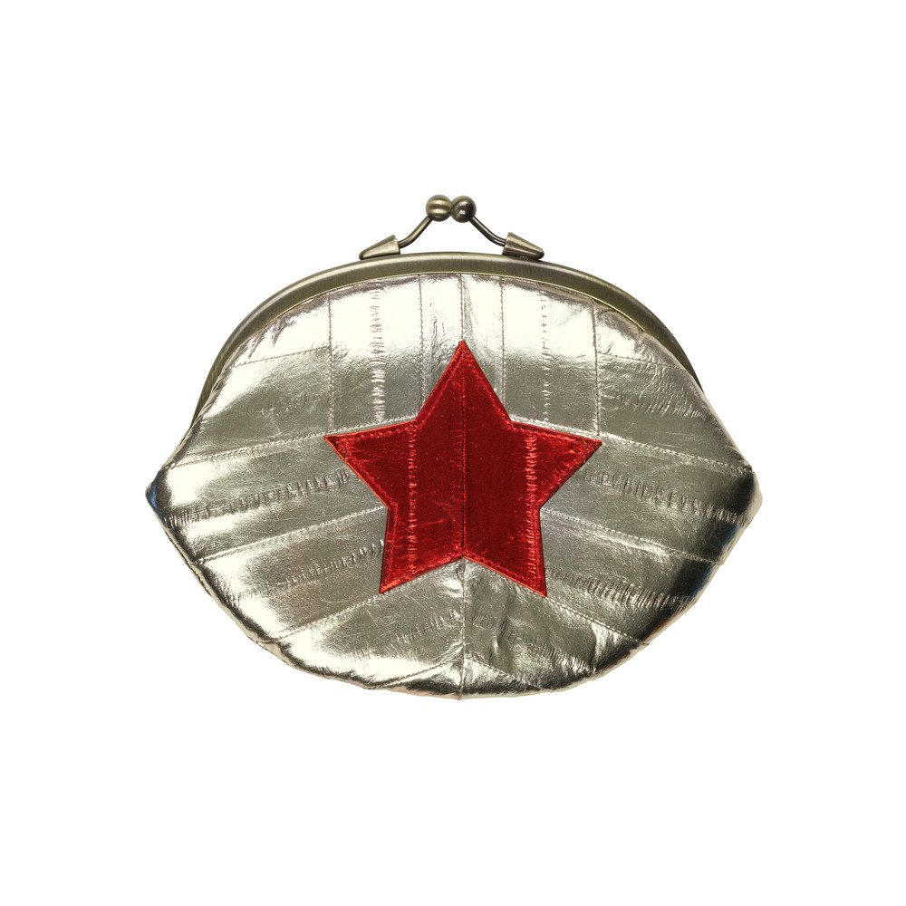 Granny Star Purse - Silver