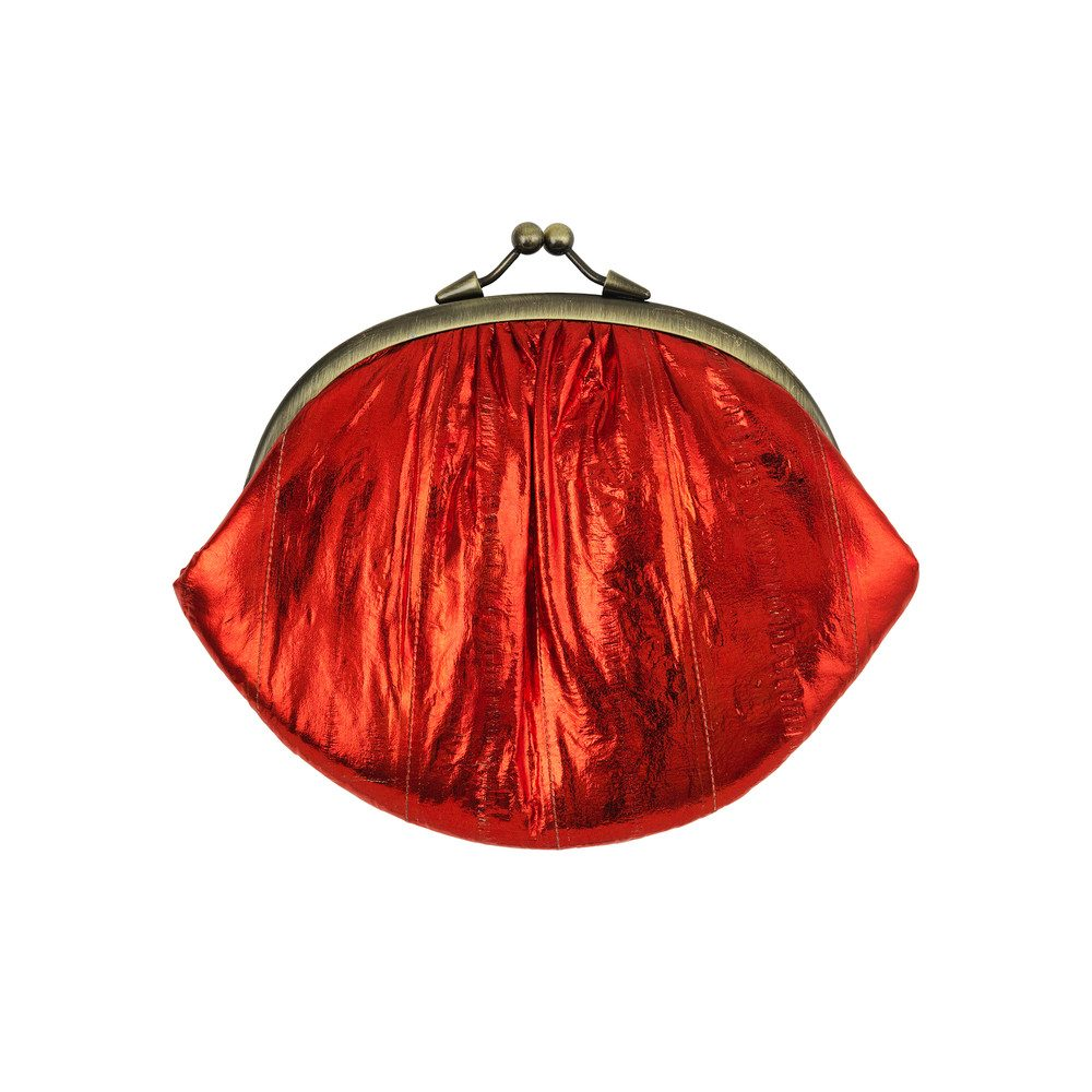 Granny Purse - Rumba Red Metallic