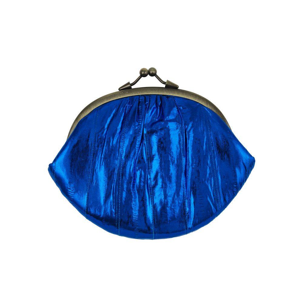 Granny Purse - Mazarine Blue Metallic