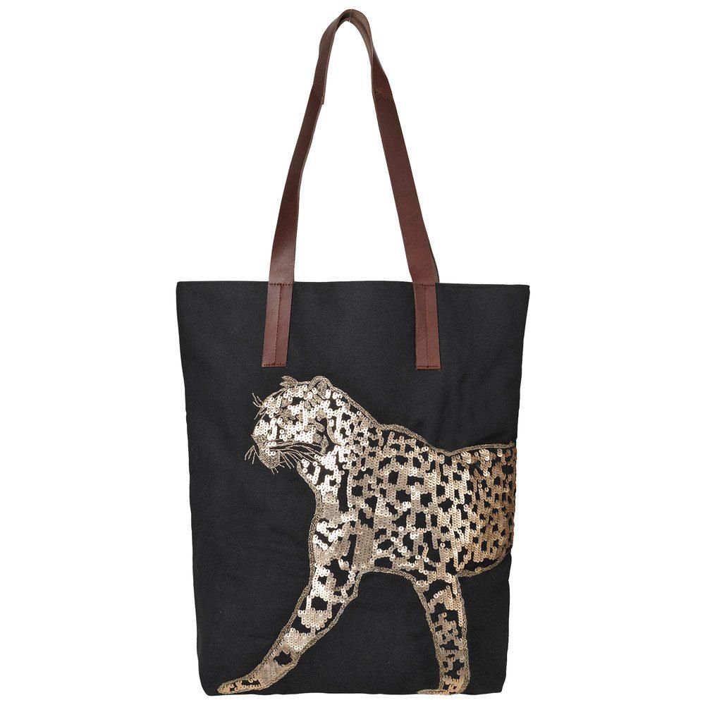 Leo Canvas Bag - Black