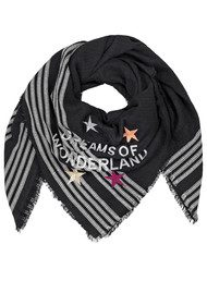 Becksondergaard Wonderland Cotton Scarf - Black