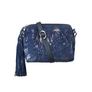 Sherry Leather Bag - Medieval Blue