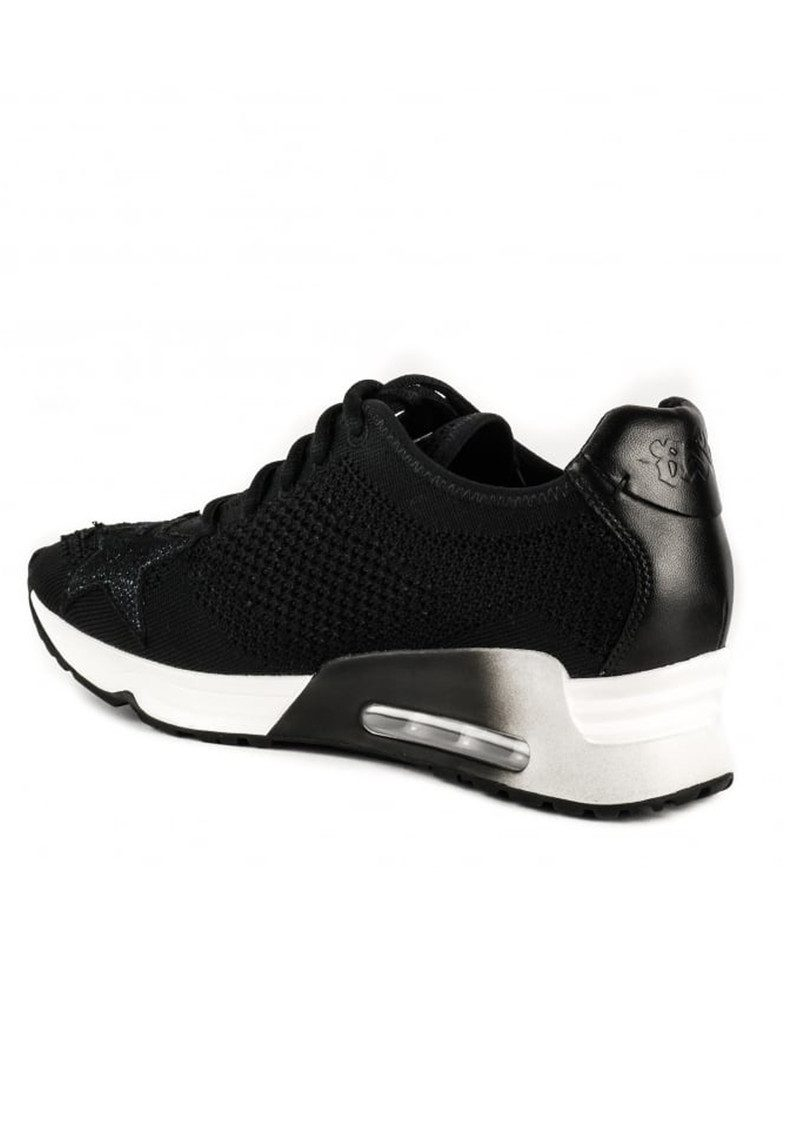 Ash Lucky Star Knit Trainers - Black main image