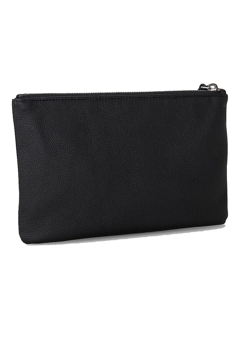 Liebeskind Jenny H7 Leather Pouch - Oil Black main image