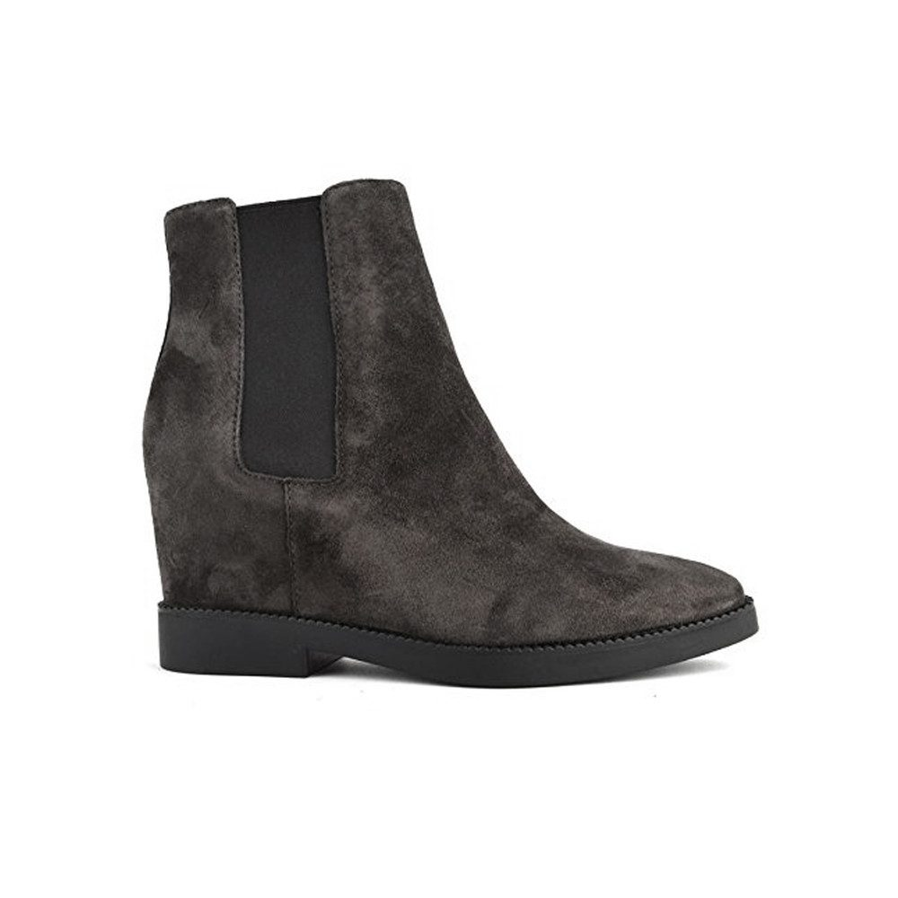 Gong Suede Wedge Boot - Soft Bistro