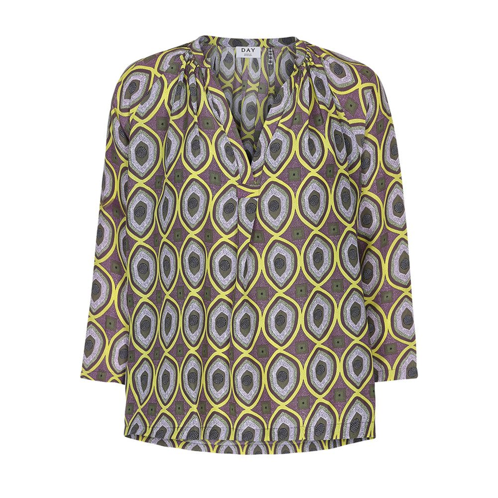 Day Oasis Printed Blouse - Lackey