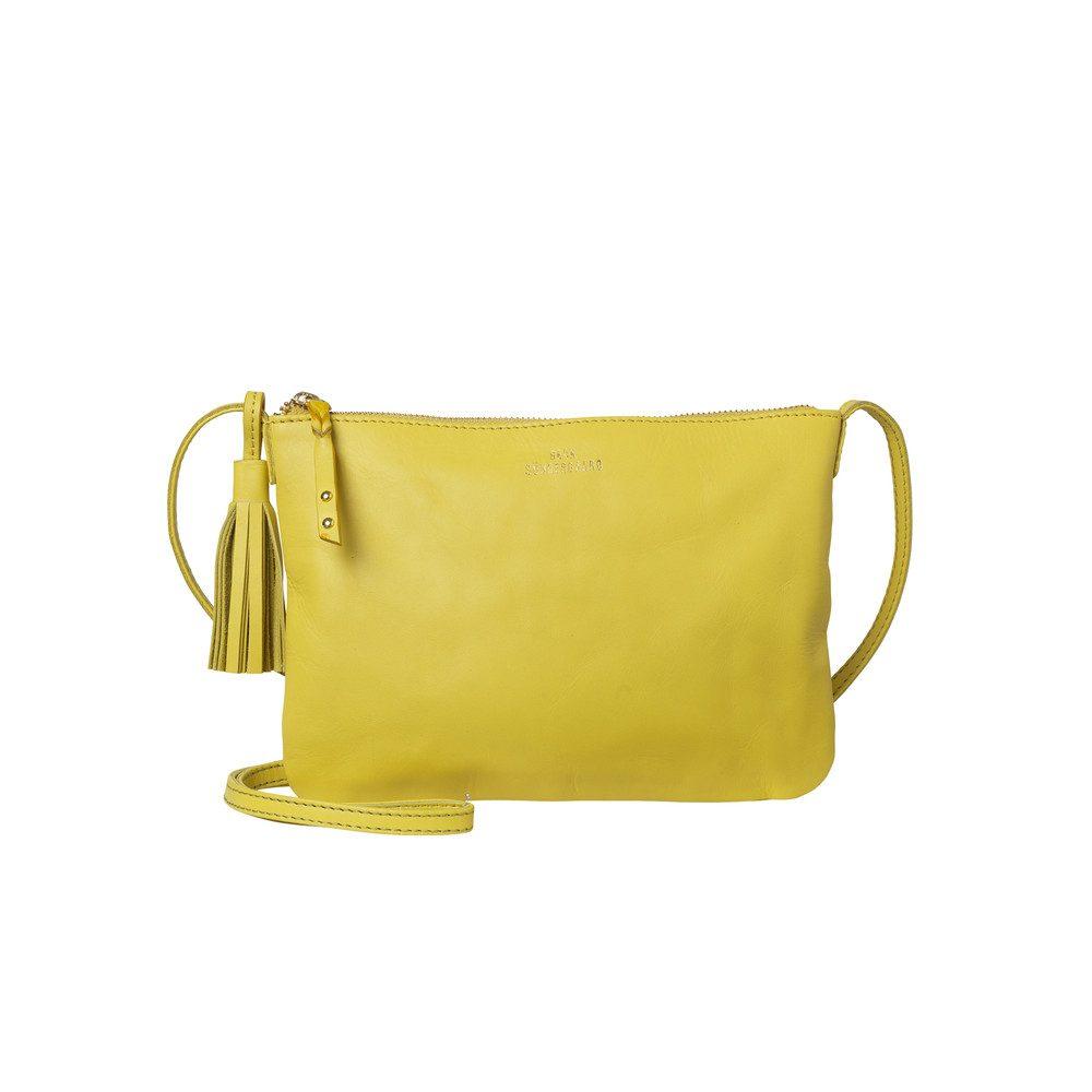 Lymbo Leather Bag - Blazing Yellow