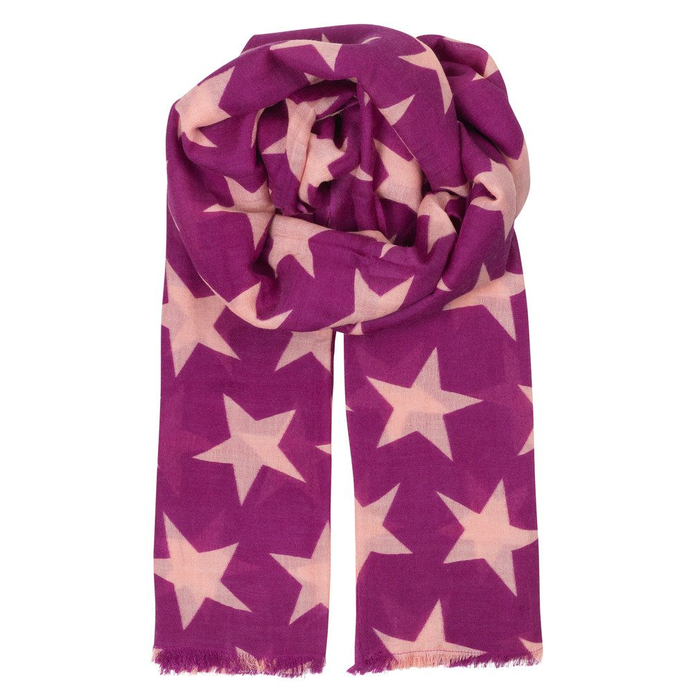 Supersize Nova Scarf - Hollyhock