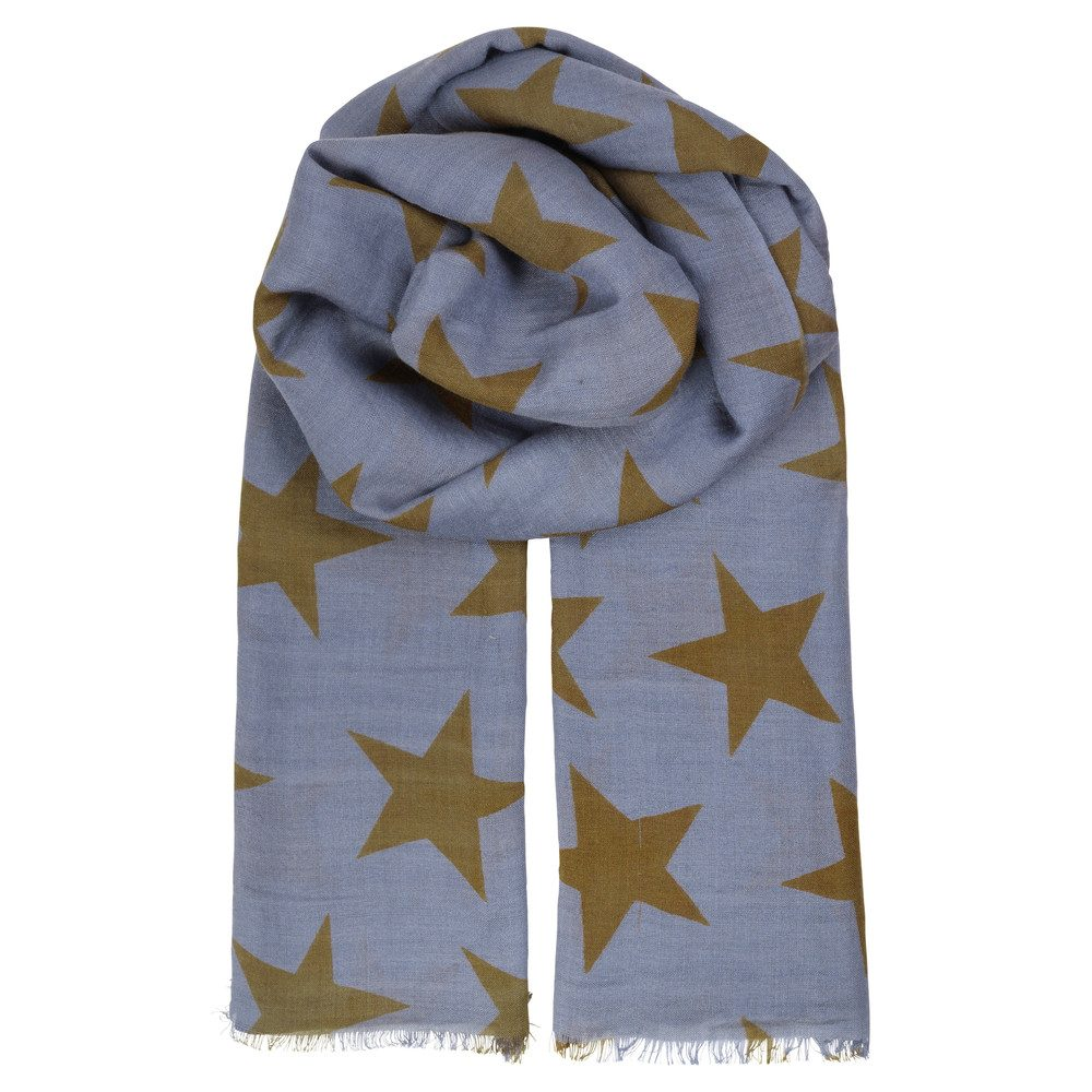 Supersize Nova Scarf - Blue Shadow