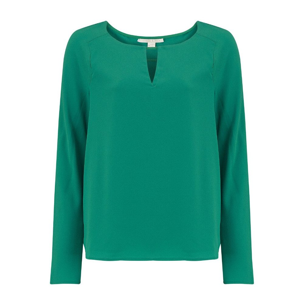 Selma Blouse - Pine Green