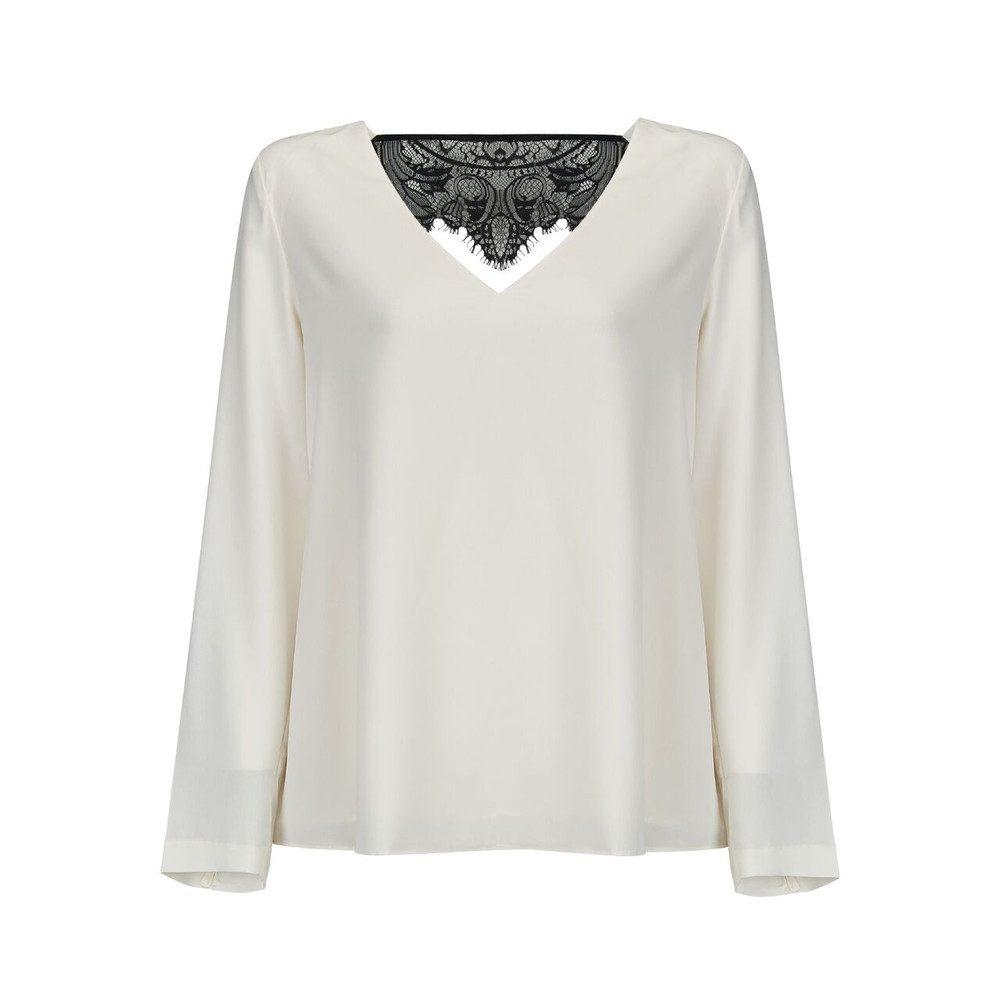 Freja Long Sleeve Top - Ivory