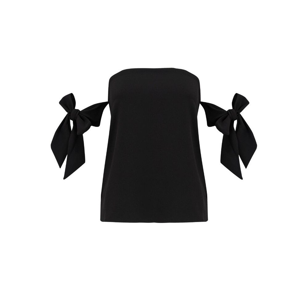 Lova Bow Top - Black