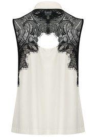 COOPER AND ELLA Vera Lace Shirt - Ivory