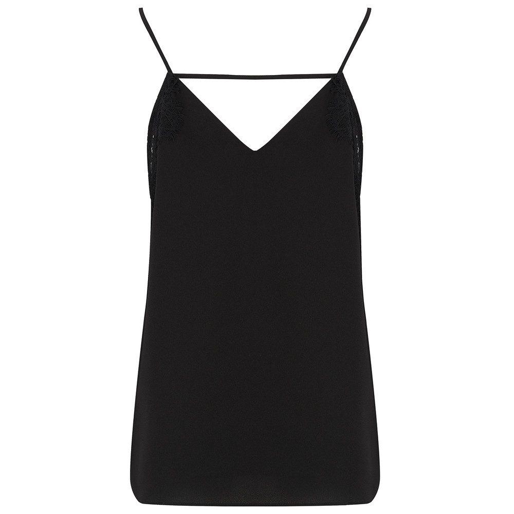 Klara Lace Camisole - Black