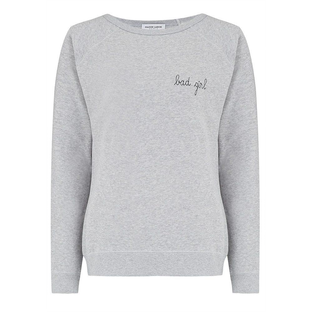Bad Girl Sweater - Grey