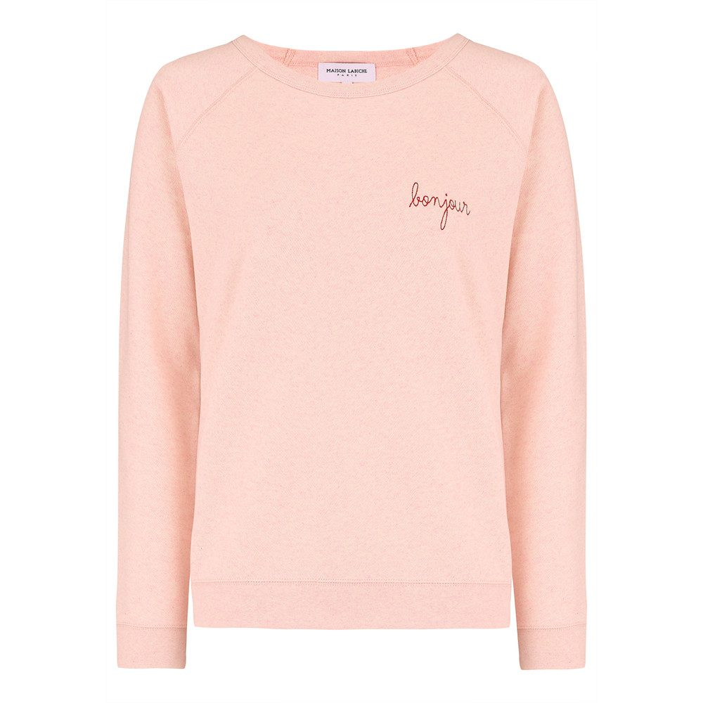 Bonjour Sweater - Rose Chine