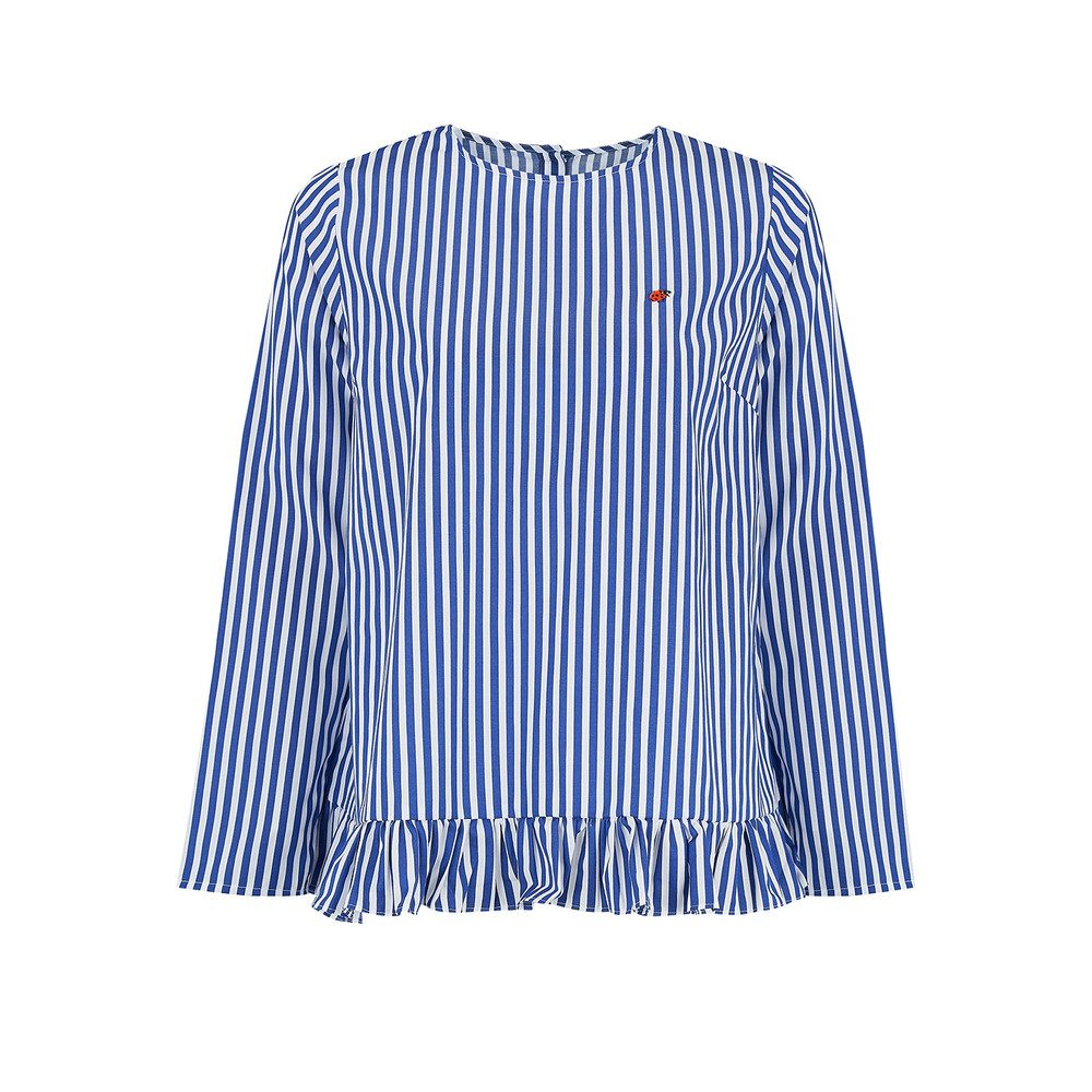 Coccinelle Striped Top - Blue Stripes