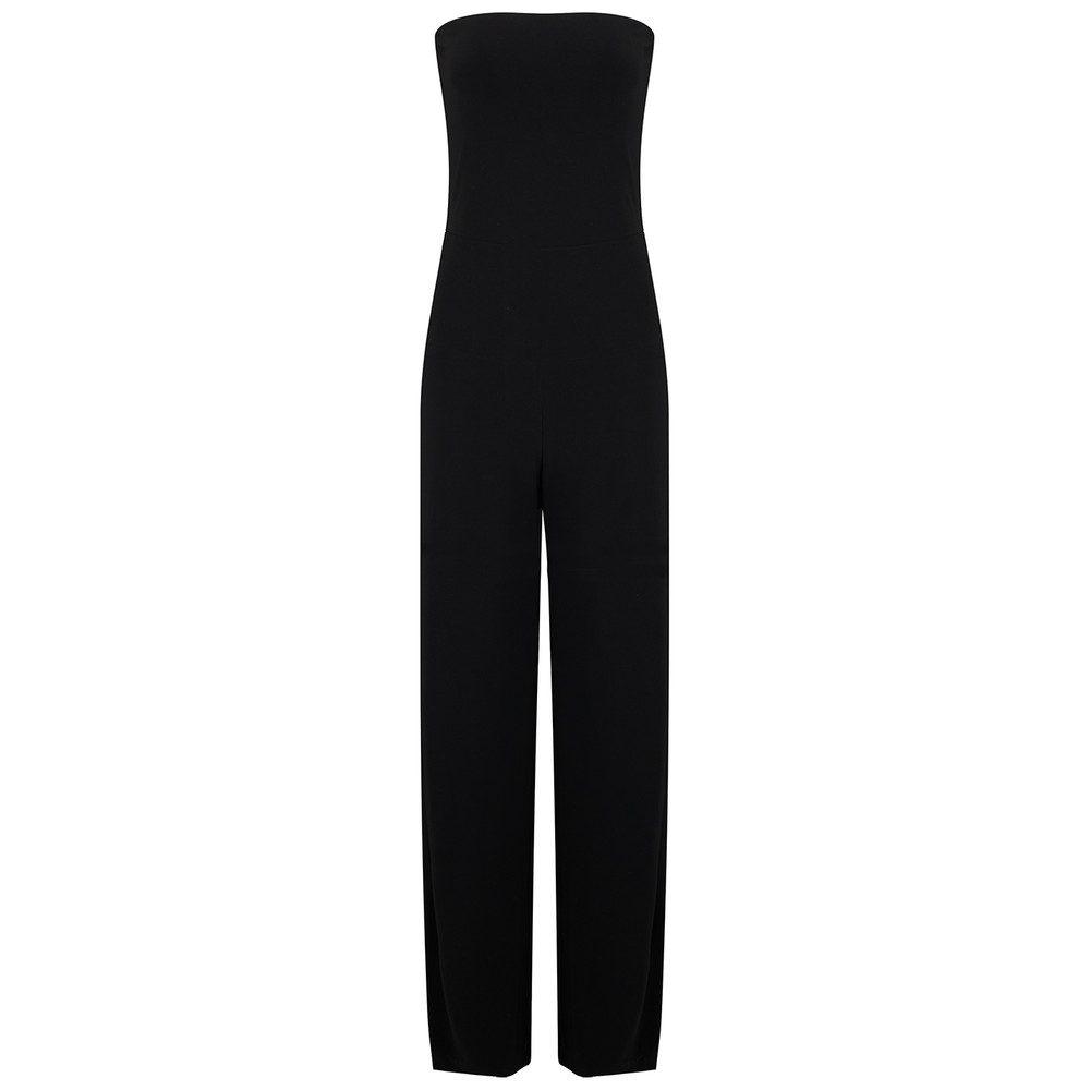Strapless Jumpsuit - Black