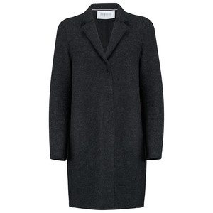 Cocoon Wool Coat - Anthracite