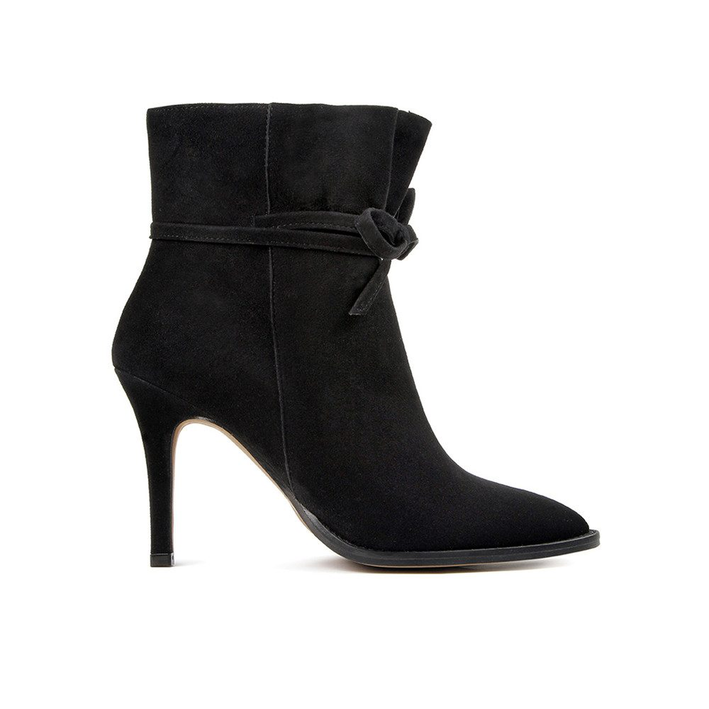 Sheena Suede boot - Black