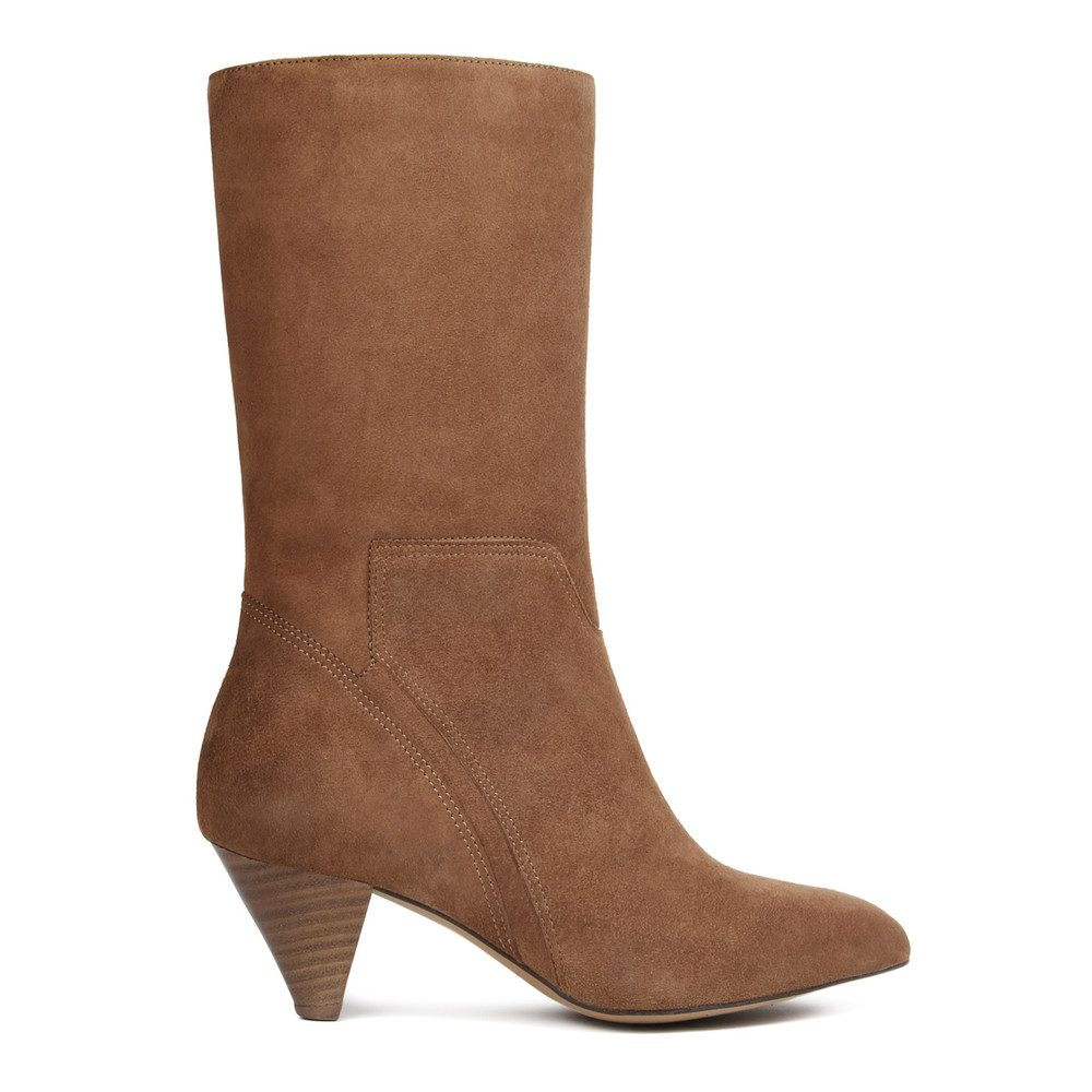 Regina Suede Boot - Tan