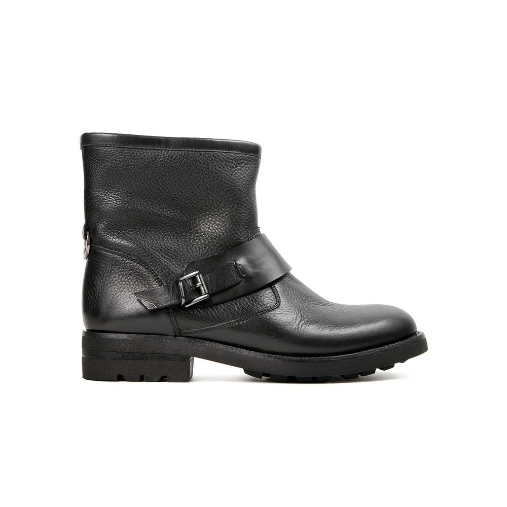 Mac Leather Boot - Black