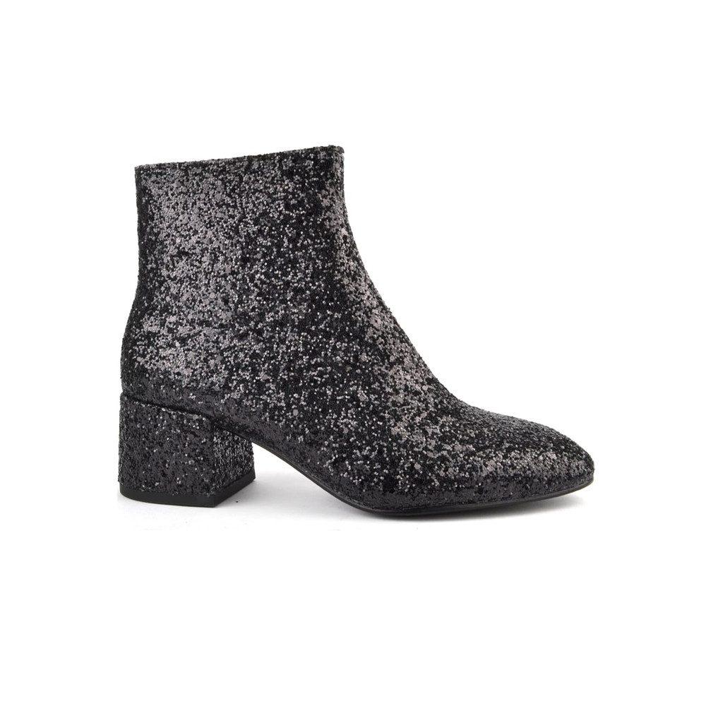 Dragon Glitter Boot - Black