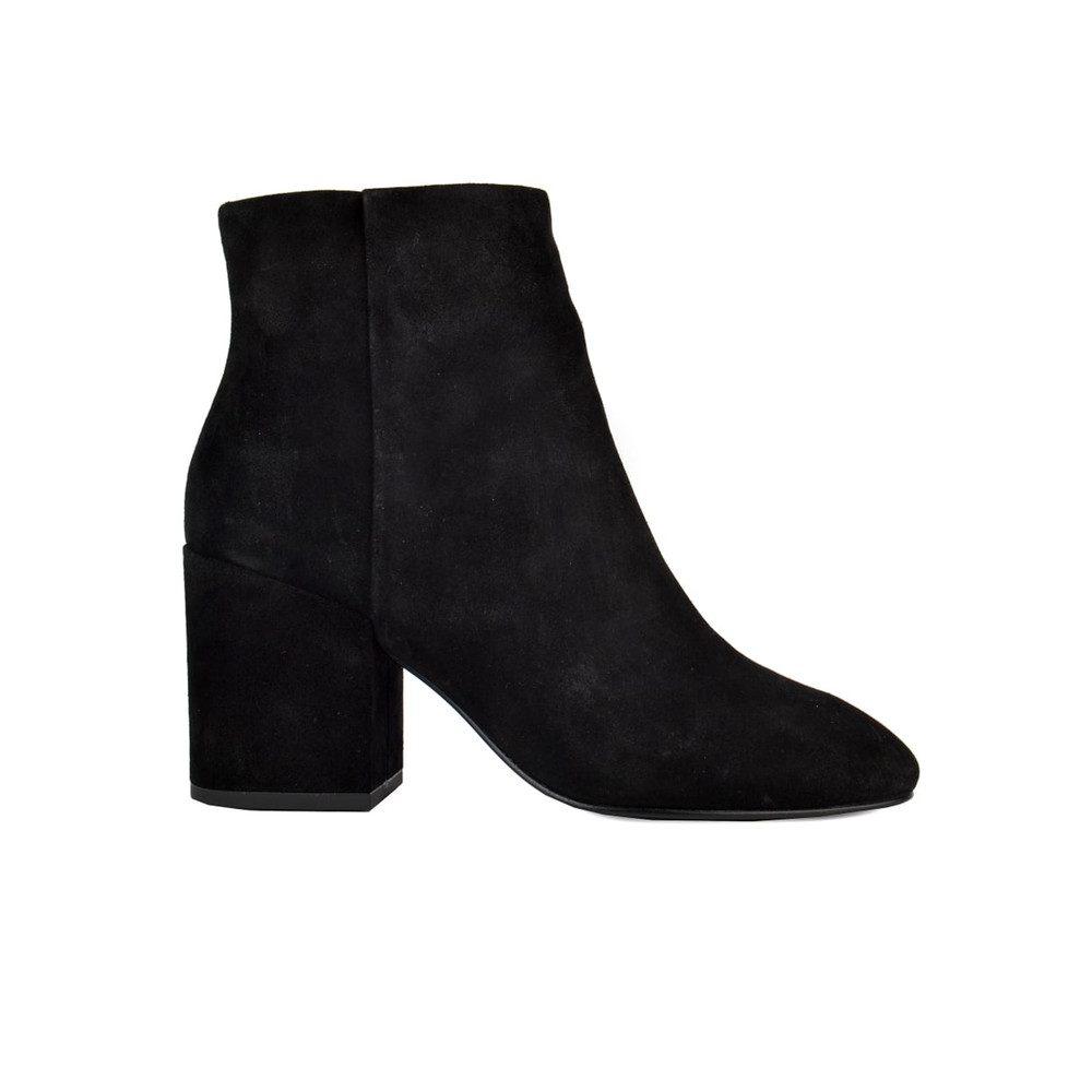 Eden Suede Boots - Black