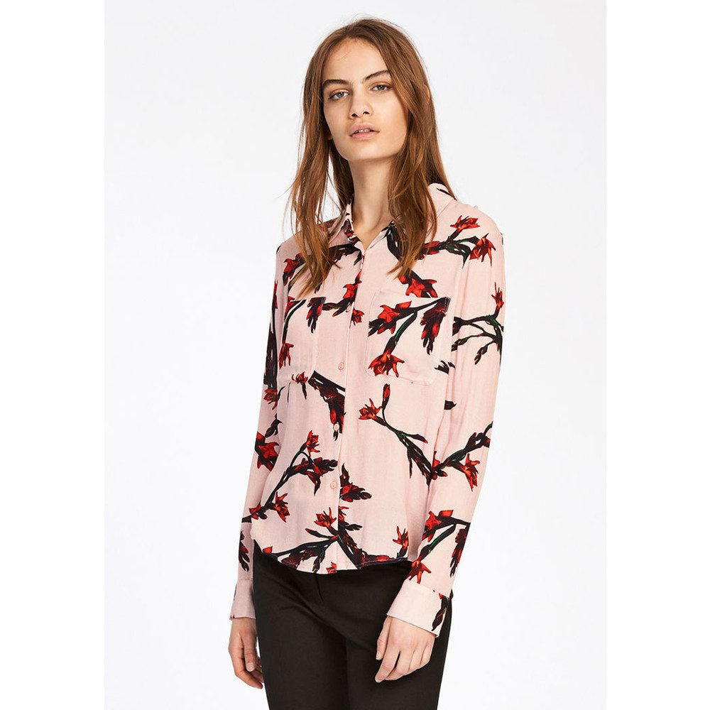 Milly Shirt AOP - Glaieul Rose