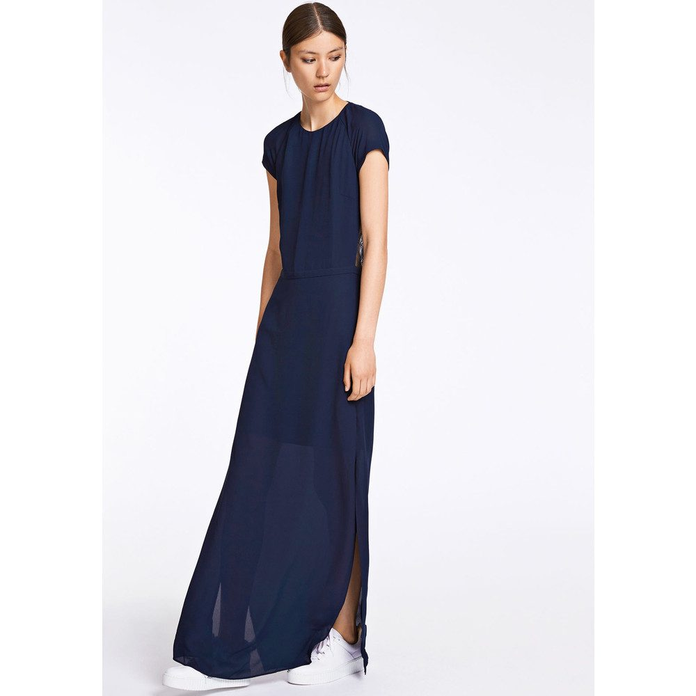 Isar Long Dress - Dark Sapphire