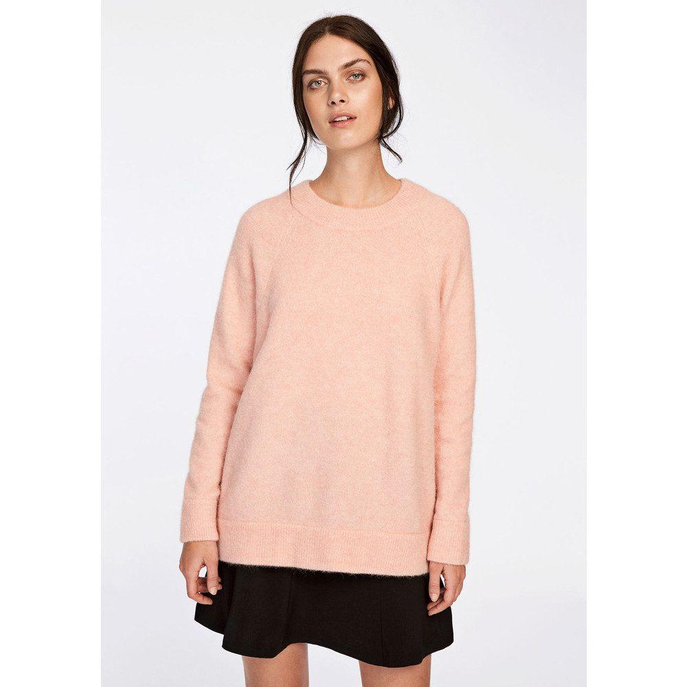 Nor o-n Long Sweater - Silver Mel