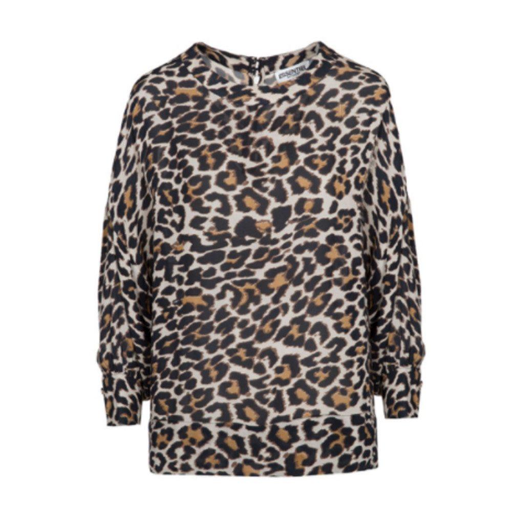 Oakus Leopard Top - Monks Robe