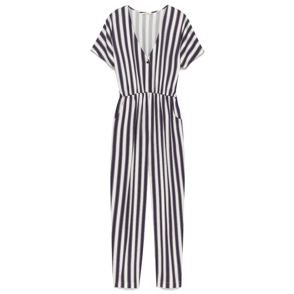 Dalida Stripe Jumpsuit - Stripe