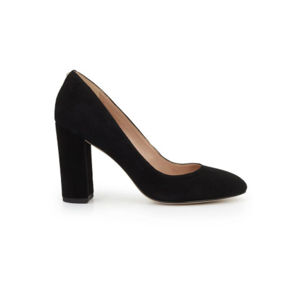 Stillson Suede Heel - Black