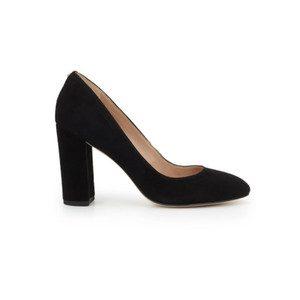 Stillson Suede Heel - Black