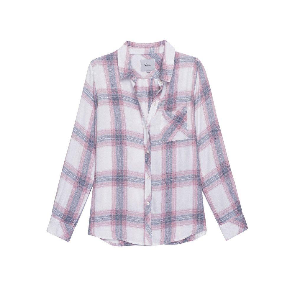 Hunter Shirt - White & Peony