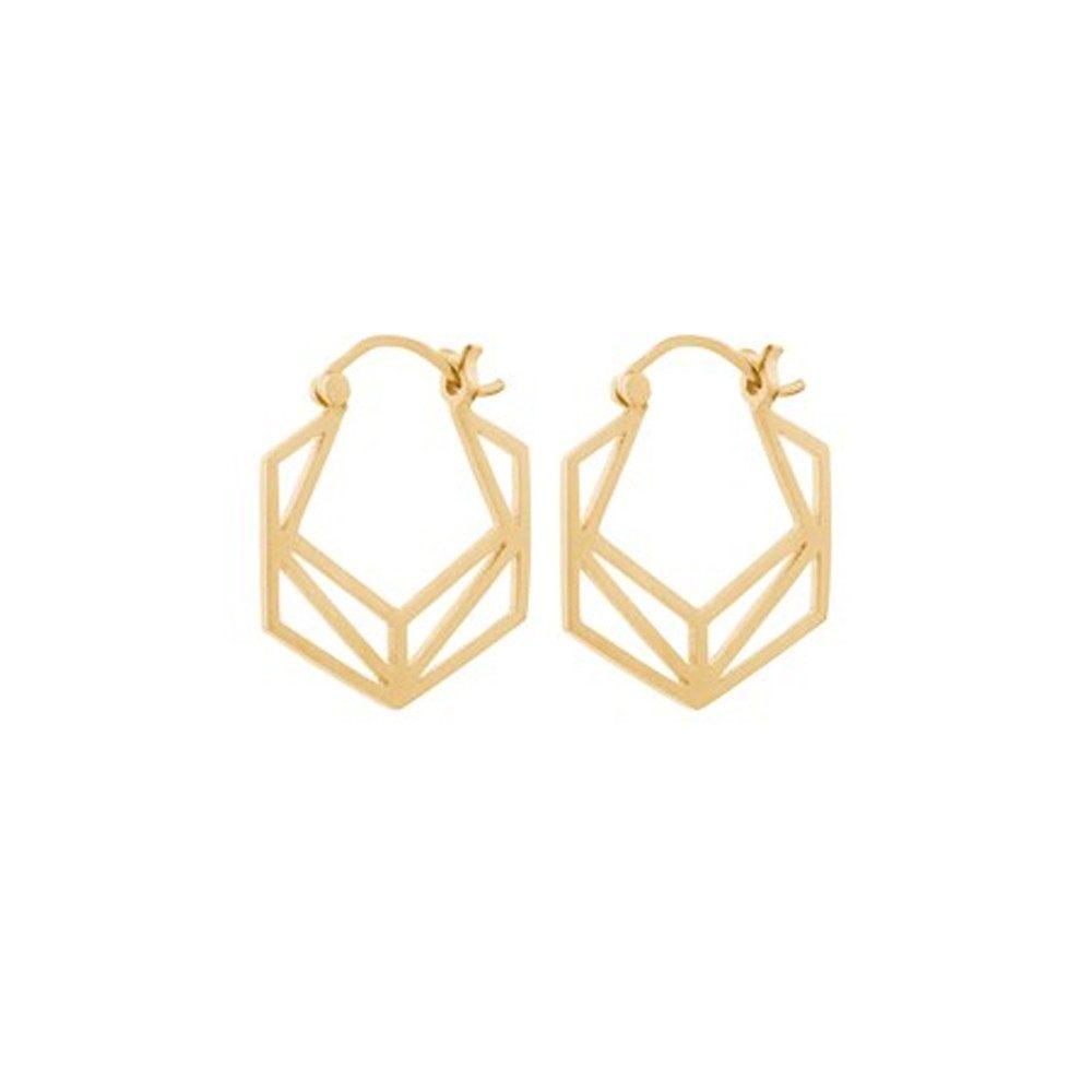 Icon Earrings - Gold