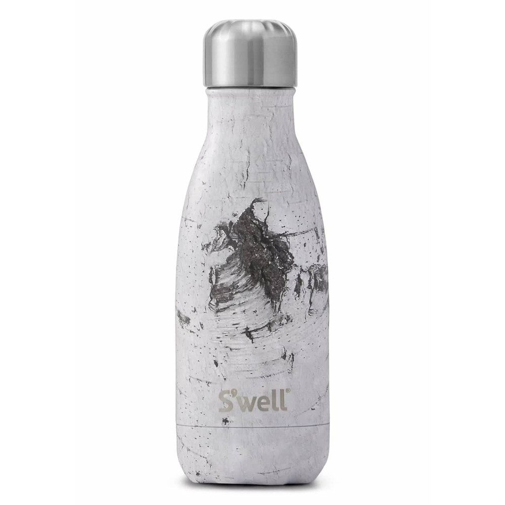 The Wood 9oz Water Bottle - White Birch