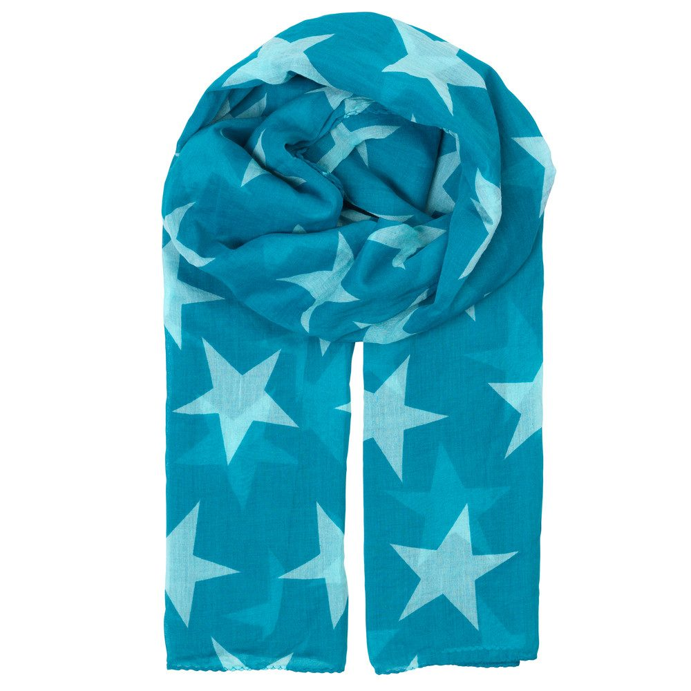 Fine Twilight Scarf - Enamel Blue