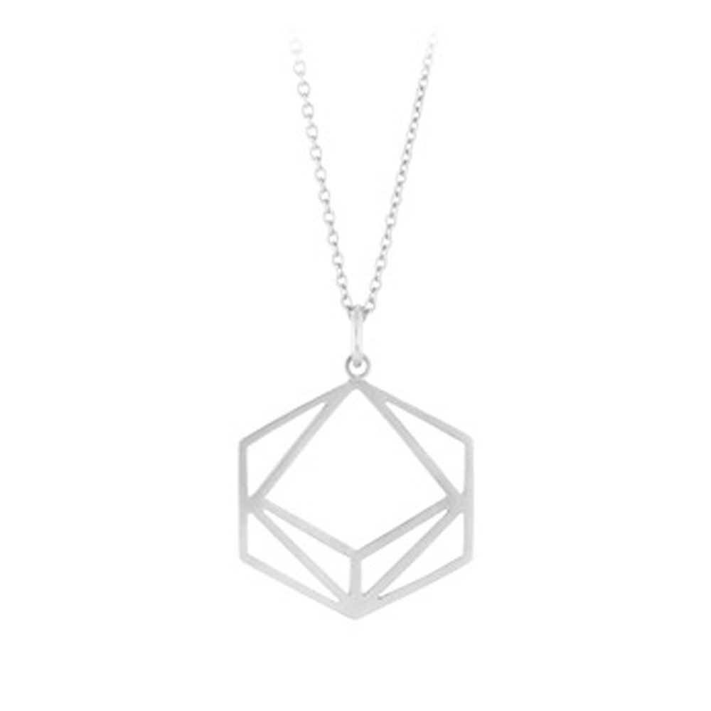 Icon Short Necklace - Silver