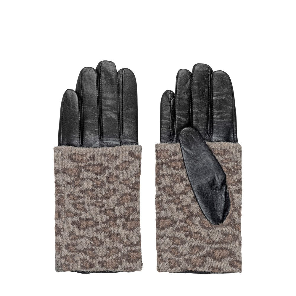 Barre Leather Gloves - Multi